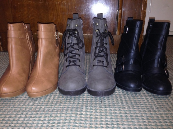 Row of boots 1